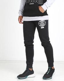 St Goliath Gladiator Track Pants Black