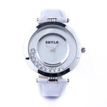 Skyla Jewels White Diamante Ladies Watch