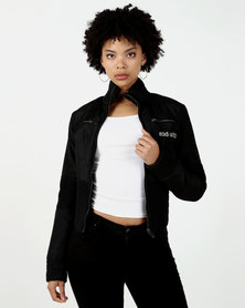 ECKÓ Unltd Zip Through Jacket Black