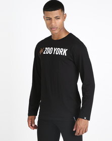 Zoo York Core Long Sleeve Tee Black