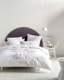 Linen House Blossom Duvet Cover Set White