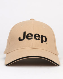 Jeep Basic Peak Cap Khaki
