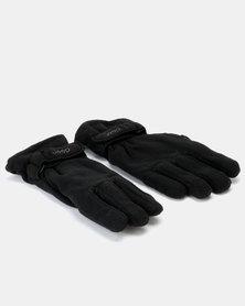 Jeep Polar Fleece Gloves Black