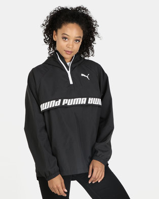 402e2387ad8e Puma 1 2 Zip Modern Sports Jacket Black