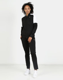 Puma Clean Tricot Suit Black & White