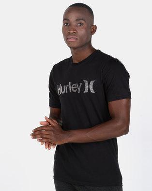 2d6bd45344b75e Hurley One   Only Push Through T-shirt Black
