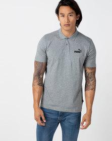 Puma Sportstyle Core ESS Jersey Polo Grey
