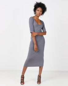 SassyChic Olivia Dress Grey