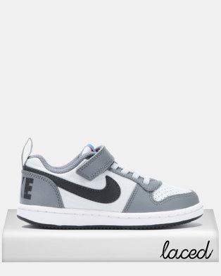 7a67a9ada9f3 NIKE Court Borough Low-cut Sneaker Grey
