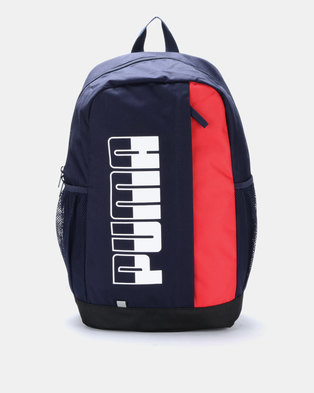 442046bfdc84 Puma Sportstyle Core Plus Backpack II Navy