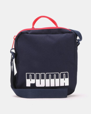 d571e5de30e7 Puma Sportstyle Core Plus Portable II Bag Blue