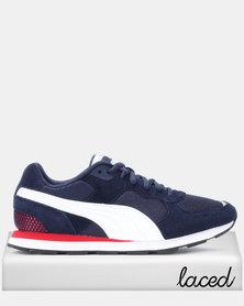 Puma Sportstyle Core Vista Sneakers Peacoat/Puma White/High Risk Red