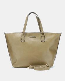 Blackcherry Bag Statement Tote Bag Olive