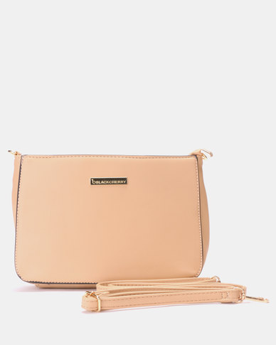 Blackcherry Bag Must Have Crossbody Bag Golden Tan