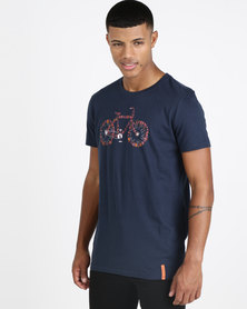 Vents Brull XR650 Offroad T-shirt Navy
