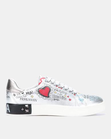 Dolce Vita Amalfi Sneakers Silver