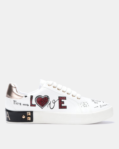 Dolce Vita Capri Sneakers White