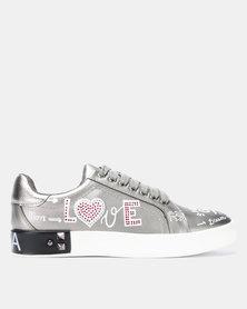 Dolce Vita Capri Sneakers Silver