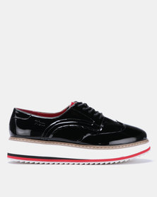 PLUM Delia Shoes Black