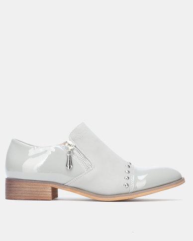 PLUM Slip On Shoes Grey
