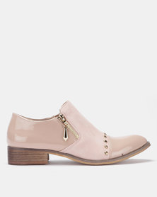 PLUM Slip On Shoes Pink