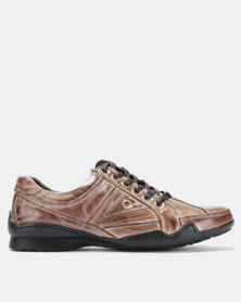 Utopia Hybrid Lace Up Light Brown