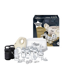 Tommee Tippee Closure To Nature - Microwave Sterilizer and Breast Pump Kit