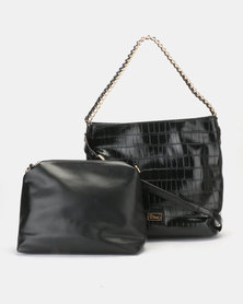 Miss Black Gretha Tote Bag Black