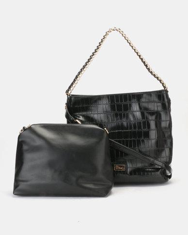Miss Black Gretha Tote Bag Black