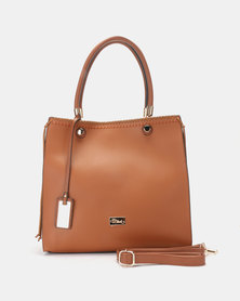 Miss Black Harva Handbag Tan