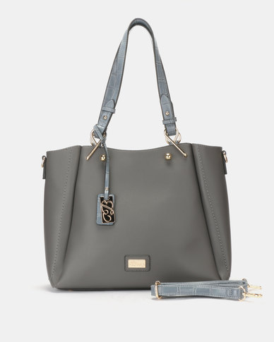 Miss Black Neko Handbag Dark Grey
