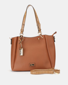 Miss Black Neko Handbag Tan