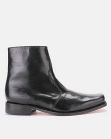CROCKETT & JONES Ultimates Boots Glace Kid Black
