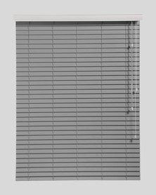 Decor Depot 50 mm Fauxwood Venetian Blind Grey
