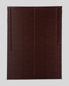 Decor Depot 25 mm PVC Venetian Blind Textured Espresso