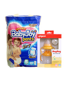 Pigeon Mag Mag All In One + Free Size 3 Babyjoy Diaper