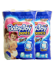 Babyjoy Diapers/Pants Double Pack - Size 5