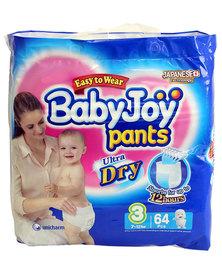 Babyjoy Bpl Pants/Diapers Size 3 - 64 Piece