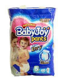Babyjoy Bpl Pants/Diapers Size 5 - 46 Piece
