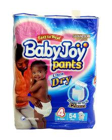 Babyjoy Bpl Pants/Diapers Size 4 - 54 Piece