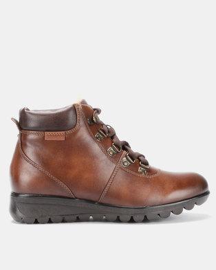 f3e87ea8fe80 Pierre Cardin Outdoor Ankle Boot Tan