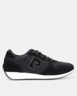 69e62f52252 Pierre Cardin P-Logo Sneaker Black