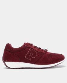 Pierre Cardin P-Logo Sneaker Burgundy