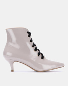 Dolce Vita Exclusive Lace Up Boot Grey