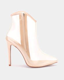 PLUM Ankle Boot Nude