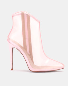 PLUM Ankle Boot Light Pink