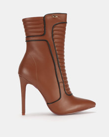 Plum Ankle Boot Tan