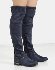 PLUM Pula OTK Boot Navy