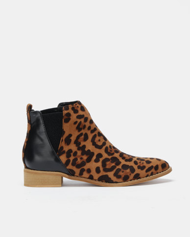 Dolve Vita Sahara Ankle Boots Black