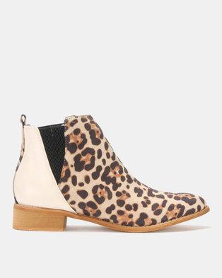Dolve Vita Sahara Ankle Boots Beige